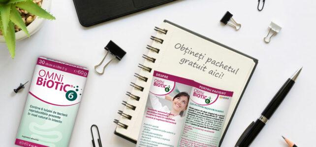 Profitați de oferta specială pentru Omni-Biotic 6 pentru a obține 1 cutie gratuită – vedeți cum!